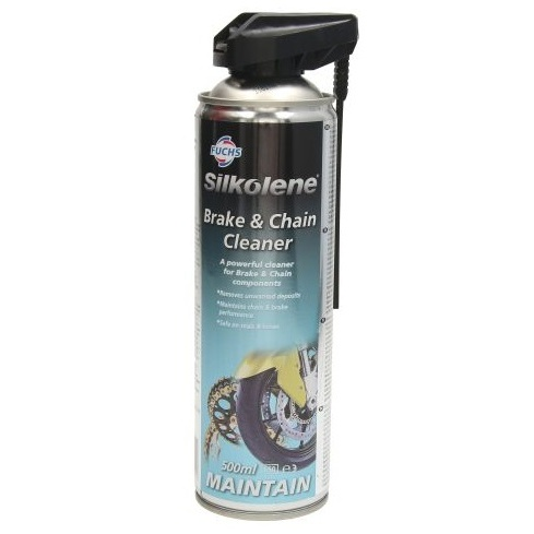 Spray Curatat Frana Si Lant Moto Silkolene 500ML BRAKE & CHAIN CLEANER0,5L