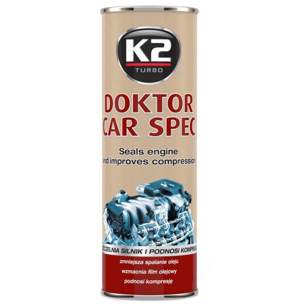 K2 Aditiv Ulei Motor Doktor Car Spec 443ML T350