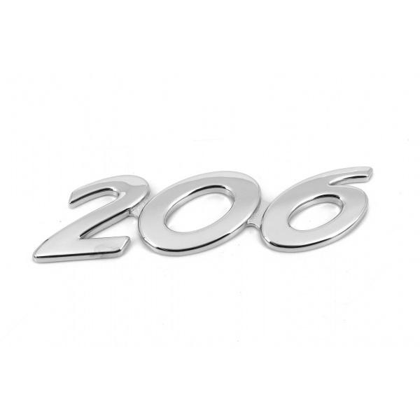 Emblema 206 Oe Peugeot 206 1998-2012 8663XV