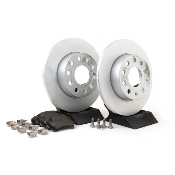 Set Discuri + Placute Frana Spate Oe Volkswagen Golf 5 2003-2009 JZW698601AB