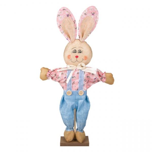 Figurina Decorativa De Paste Iepuras 24x6x47CM 1173186