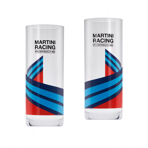 Set Pahare Inalte Oe Porsche Martini Racing® WAP0505000L0MR