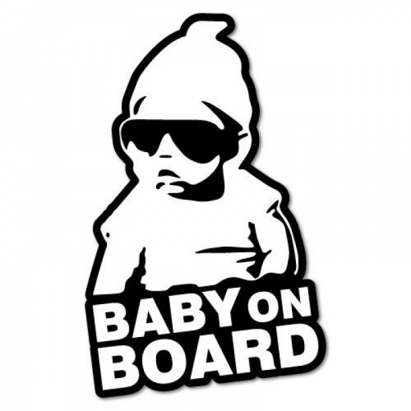 Abtibild Baby On Board Diverse AD 004