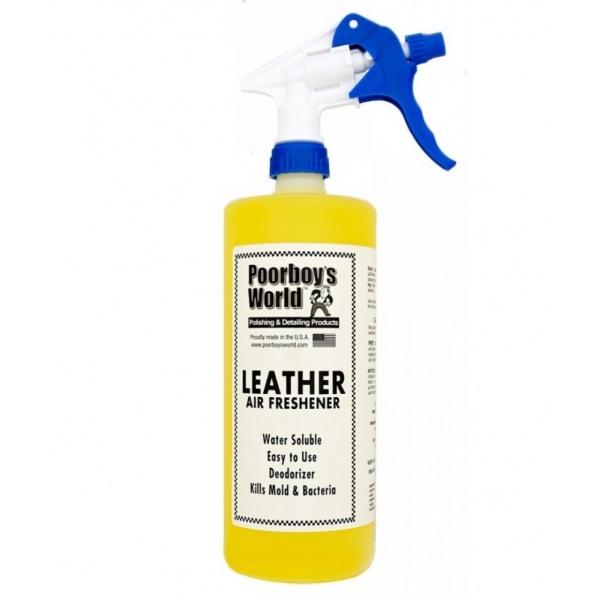 Odorizant Auto Poorboy's Air Freshener - Leather 473ML PB-AFL-16