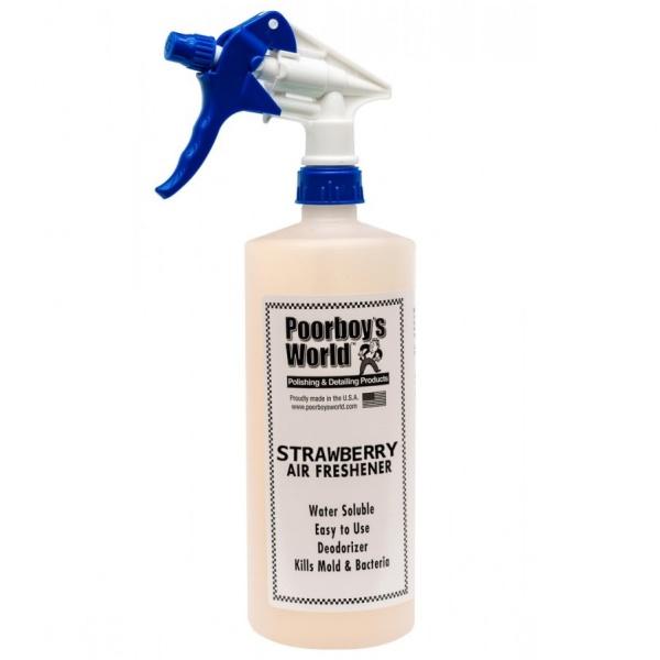 Odorizant Auto Poorboy's Air Freshener - Strawberry 473ML PB-AFSTB-16