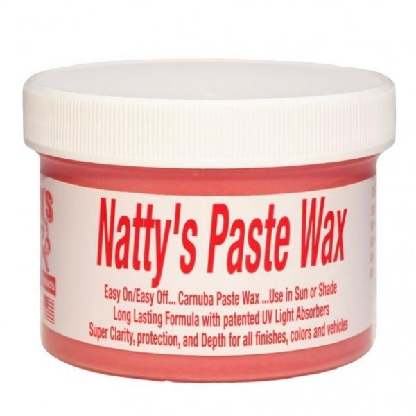 Ceara Auto Poorboy's World Natty's Paste Wax Red PB-NPW-R