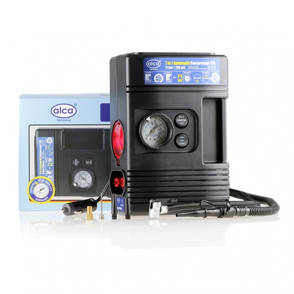 Compresor Auto Alca 7 In 1 12V 213 000