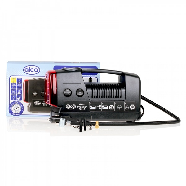 Compresor Auto Alca Nonstop 12V 3 In 1 219000