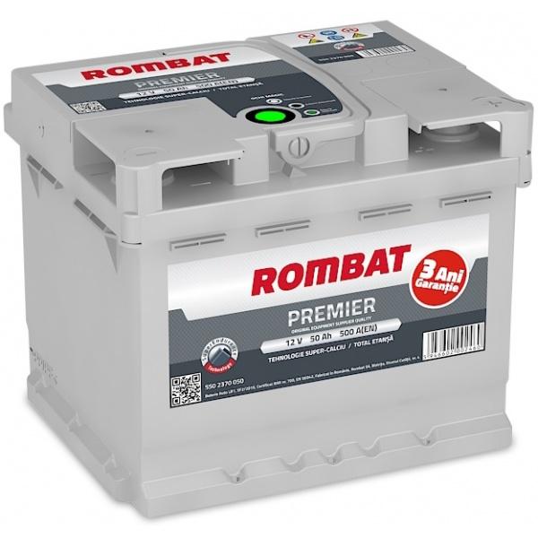 Baterie Rombat Premier 50Ah 500A 5502370050ROM