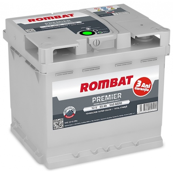 Baterie Rombat Premier 55Ah 540A 5552310054ROM