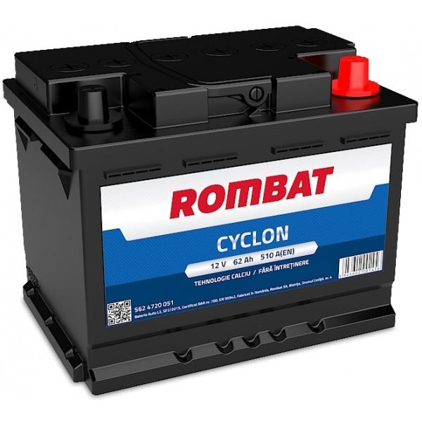 Baterie Rombat Cyclon 62Ah 510A 5624720051ROM