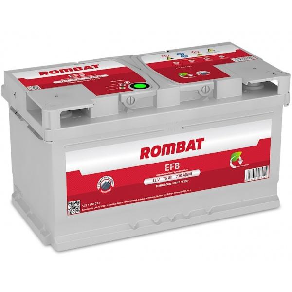 Baterie Rombat Efb Start-Stop 75Ah 730A 57511A0073ROM