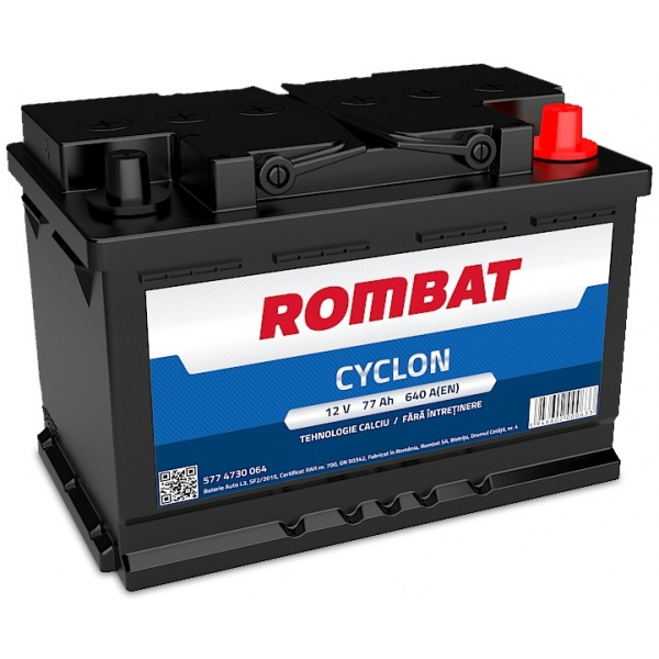 Baterie Rombat Cyclon 77Ah 640A 5774730064ROM