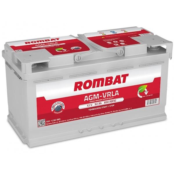 Baterie Rombat Agm-Vrla Start-Stop 92Ah 850A 5921250090ROM