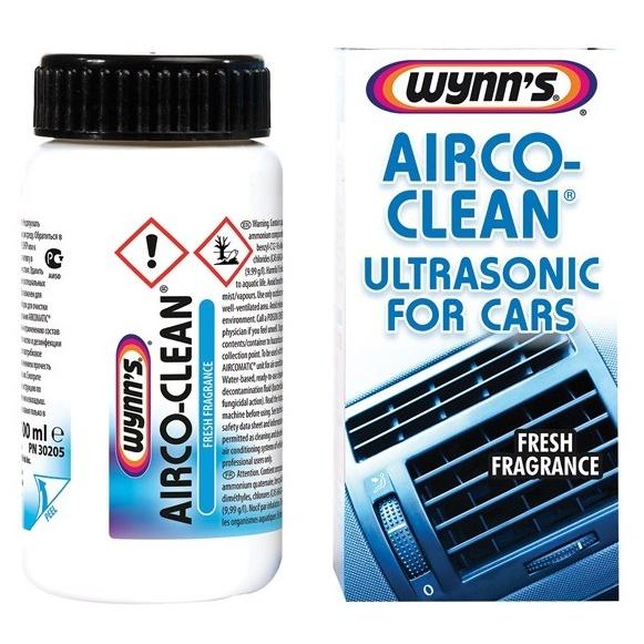 Wynn's Airco Clean Tratament Ultrasonic Pentru Aer Conditionat 100ML W30205