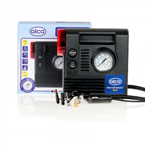 Compresor Auto Alca 3 In 1 233000