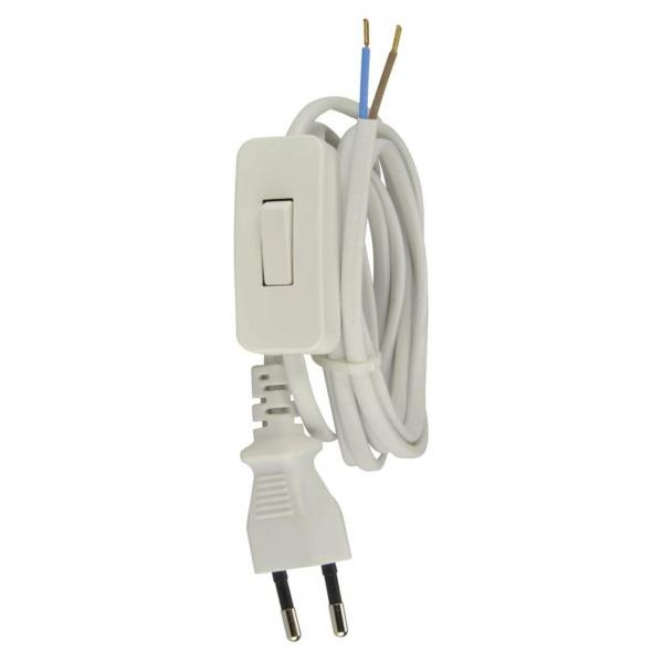 Montaj Cablu Cu Stecker Unitec Alb 2M 44538