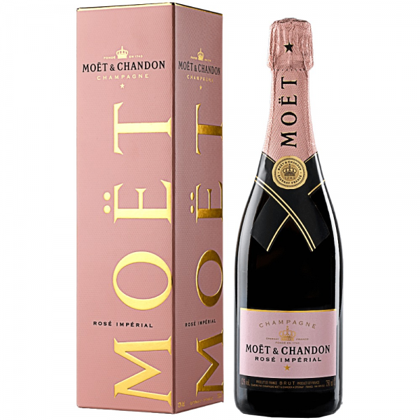 Moet&Chandon Sampanie Rose Imperial Alcool 12% 0.75L 10500802