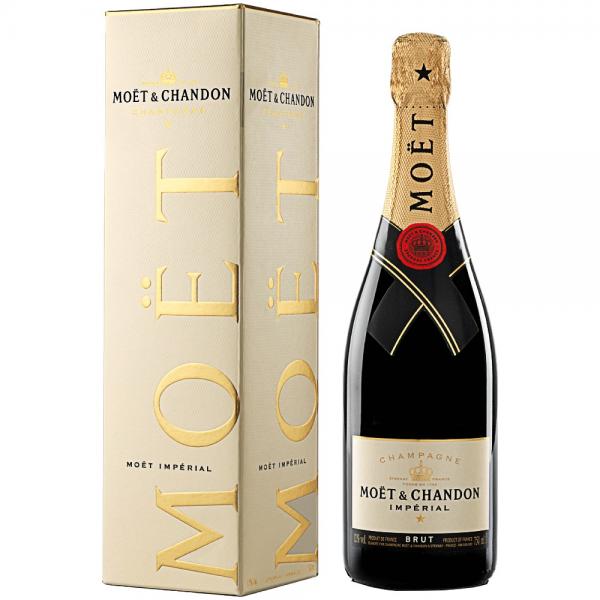 Moet&Chandon Sampanie Brut Imperial Alcool 12% 0.75L 12002078