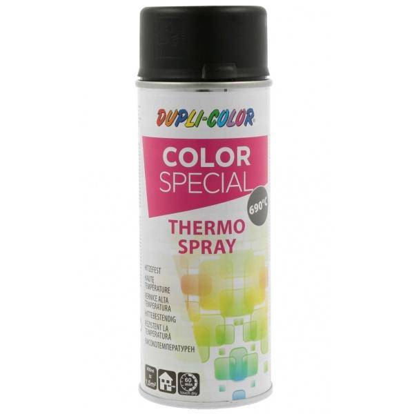 Spray Vopsea Dupli-Color Color Special Thermo Spray Negru 690°C 400ML 651458