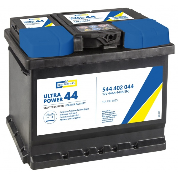 Baterie Cartechnic Ultra Power 40Ah 440A 12V CART544402044