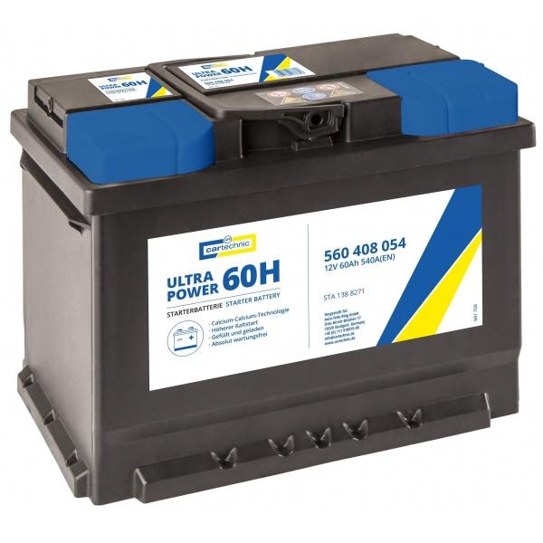 Baterie Cartechnic Ultra Power 60Ah 540A 12V CART560408054