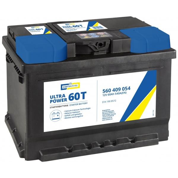 Baterie Cartechnic Ultra Power 60Ah 540A 12V CART560409054