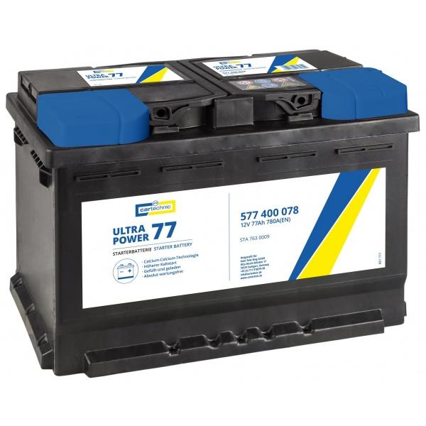 Baterie Cartechnic Ultra Power 77Ah 780A 12V CART577400078