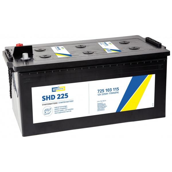 Baterie Cartechnic Ultra Power SHD 225Ah 1150A 12V CART725103115