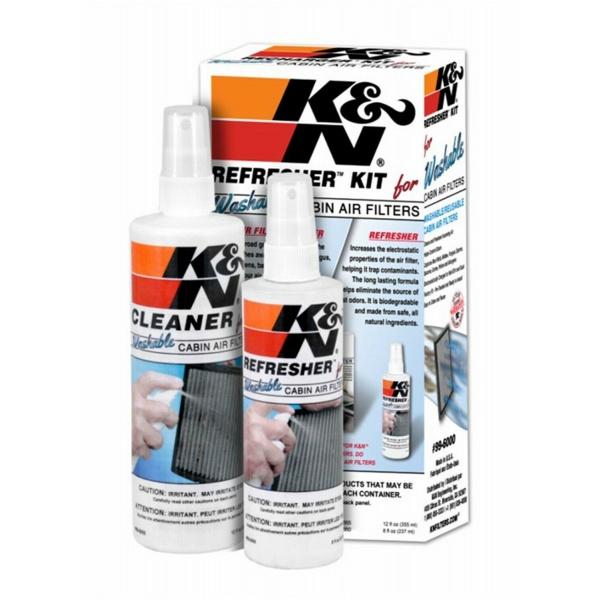 K&N Kit Solutie Curatat Filtru Polen 99-6000