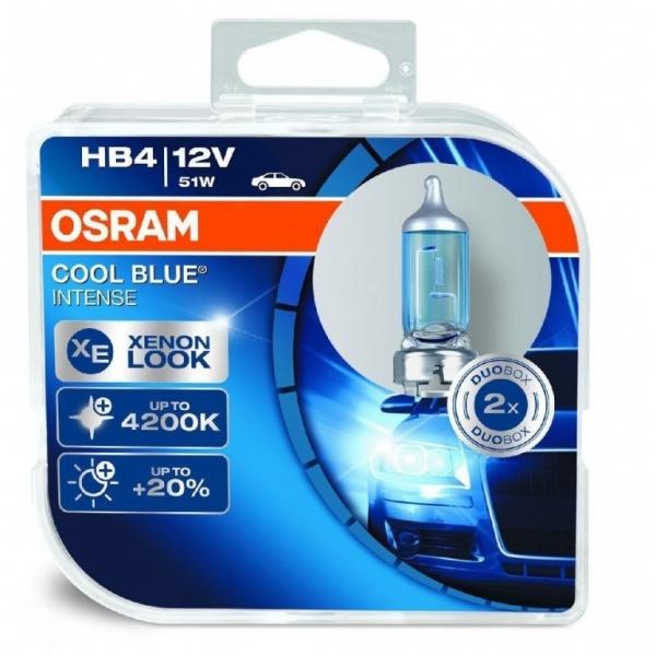 Bec Osram HB4 12V 51W Cool Blue Intense 9006CBI-HCB Set 2 Buc