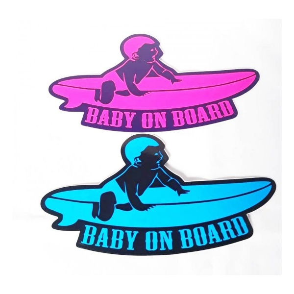 Abtibild Baby On Board Surf AD 008