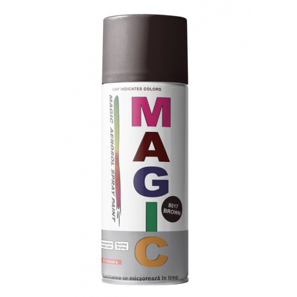 Spray Vopsea Magic Maro 8017 400ML