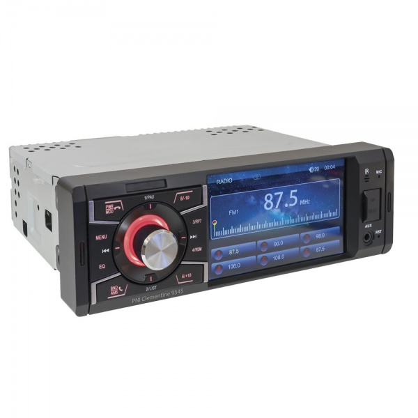 MP5 Player Cu Bluetooth Pni Clementine 1DIN Display 4 inch, 50Wx4, Bluetooth, Radio FM, SD Si USB, 2 RCA Video IN/OUT 9545