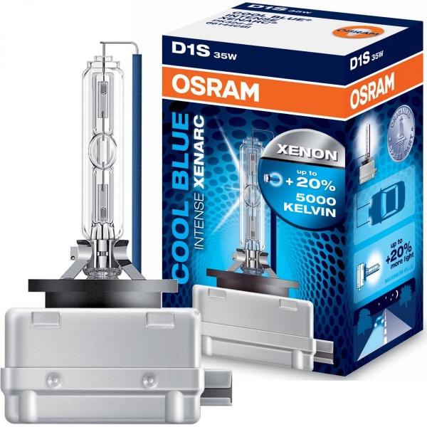 Bec Osram Xenon D1S Cool Blue Intense Xenarc 66140CBI