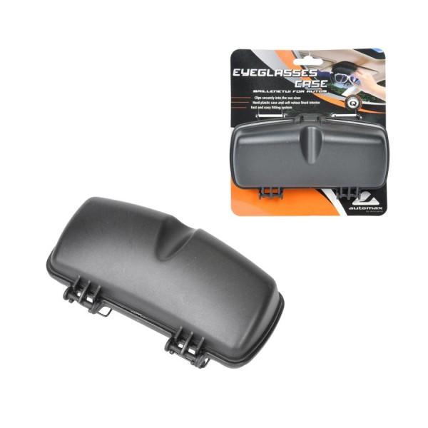 Carcasa Ochelari Automax Plastic Negru 0382