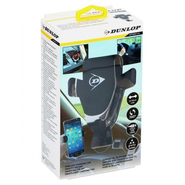Suport Telefon Dunlop Incarcator Wireless 5W Gravity 35503435