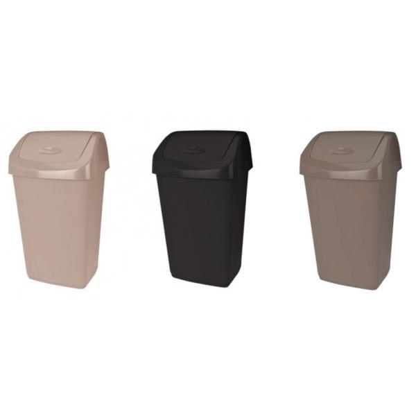 Cos De Gunoi Cu Capac Batant Heinner Plastic Capacitate 15L 31518628