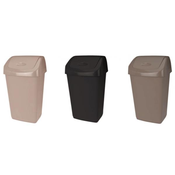 Cos De Gunoi Cu Capac Batant Heinner Plastic Capacitate 50L 31518630