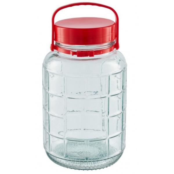 Borcan Sticla Capac Heinner Plastic 5L 31523959