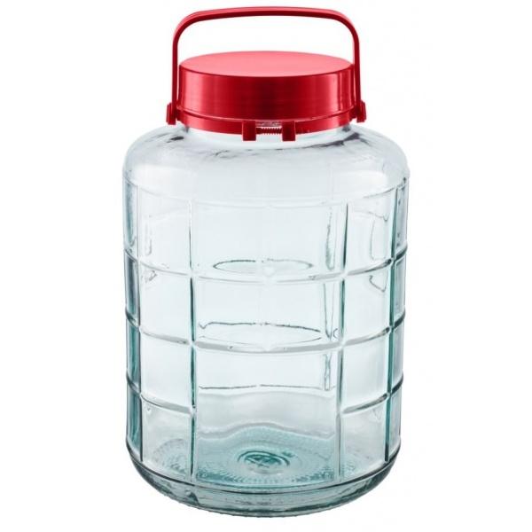 Borcan Sticla Cu Capac Heinner Plastic 10L 31523960