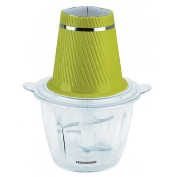 Tocator Heinner 300W 2 Cutite Inox Bol Sticla Verde HMC-300GR 41503684