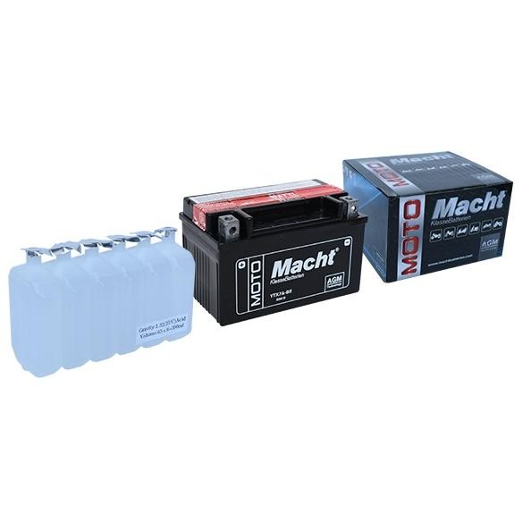 Baterie Macht 12V 6Ah 85A AGM YTX7A-BS