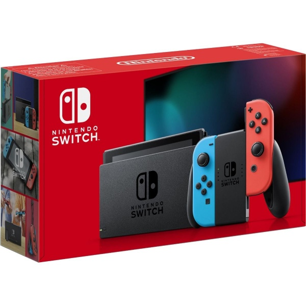 Nintendo Switch Consola Neon Red and Blue Joy-Cons 46500736