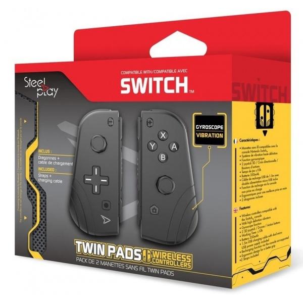 Steelplay Set 2 Controllere Pentru Nintendo Switch 46500897