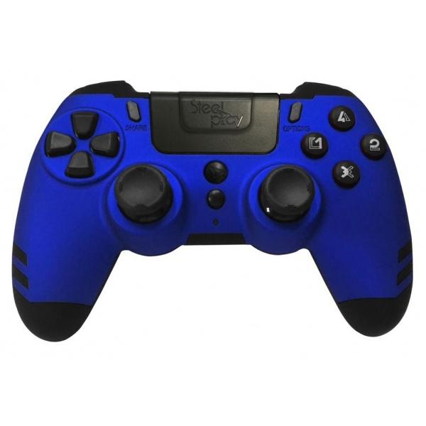 Steelplay Controller PS4 Metal Albastru 46500898