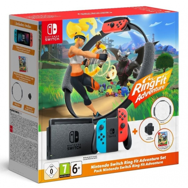 Nintendo Consola Switch - Ring Fit Adventure 46500979