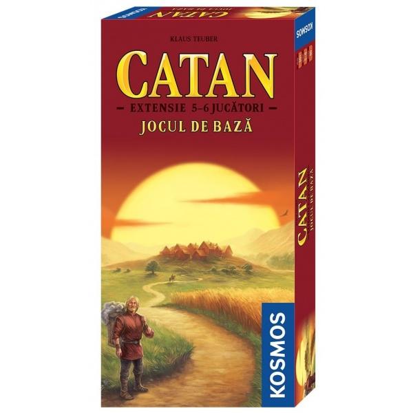Catan Extensie Jocul De Baza Ro 5/6 Persoane 10 Ani+ 33012915
