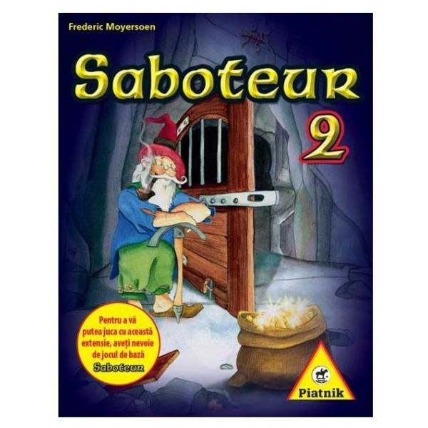 Piatnik Saboteur 2 Ro 8 Ani+ 33505486