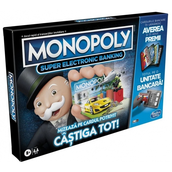 Monopoly Super Electronic Banking Ro 8 Ani+ 33515538